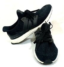 Adidas Ultra Boost 3.0 Core Black White Running Shoes BA8842 - Sz 10.5 US
