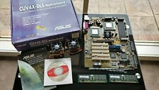 Asus CUV4X-DLS Duel P3 Motherboard with 2x CPUs and 1Gb Ram