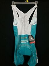 Hincapie Racing Bib Shorts Women XSmall XS Miami Dolphin Cycle Challenge