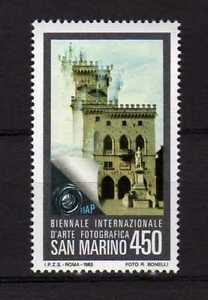 S27587) Dealer Stock San Marino 1985 MNH Photography 1v (X10 Sets)