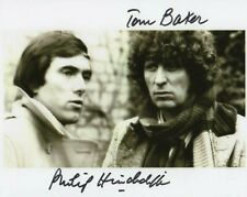 More details for doctor who autograph: tom baker & philip hinchcliffe signed photo