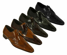 100% Leather Formal Square Jeffery~West Shoes for Men