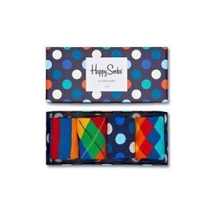 Calzini Unisex Happy Socks MULTI-COLOR SOCKS GIFT SET Multicolore XMIX09 6000