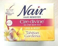 Nair Cire Divine Gardenia No Strip Wax 400g 14oz Microwaveable Kit