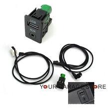 OEM AUX USB Schalter Kabel Kit Für RCD510 RNS510 Radio VW Golf Jetta PASSAT B6 7