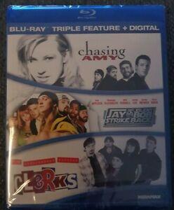 Chasing Amy / Jay & Silent Bob Strike Back/ Clerks Blu-ray Brand New Sealed