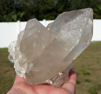 Smoky QUARTZ Cluster of Quartz Crystal Points Generator Point Smokey Brazil