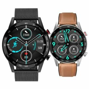 DT95 Mens Smart Watch bluetooth ECG Heart Rate Fitness Tracker For IOS Android