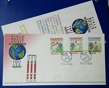 MALAYSIA FDC 1997 - INT. CRICKET COUNCIL TROPHY