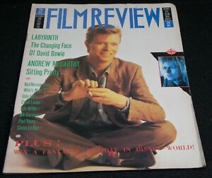David Bowie Film Review 1986 December Labyrinth Bowie Stamps Used For Postage