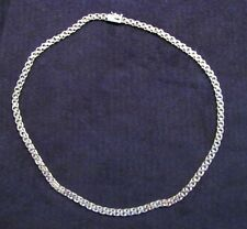Heavy and Solid 14K Gold 16.5 Inch Bismark Chain Necklace 14 Grams Not Scrap
