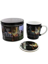 Pink Floyd Gift Set Albums Mug & Coaster in a Tin Black 13x11cm