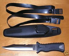 "New ""Commando"" Dive Knife with Sheath"