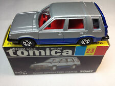 Tomy, Tomica #23 Toyota Sprinter Carib (Grey/Blue)-Vintage Collector's Item!
