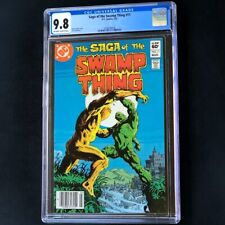 Saga of the Swamp Thing #11 (DC 1983) 💥 CGC 9.8 💥 HIGHEST - 1 of ONLY 3! Comic