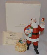 The Lenox Santa Collection- Santa Claus. Dated 1990