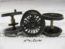 Hornby X9180W Fowler Tank 2-6-4T Driving Wheel Set Weathered