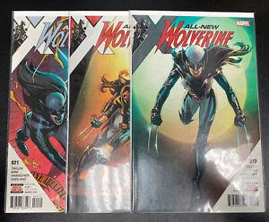 All-New Wolverine (Marvel 2015) #19-21 NM-VF