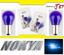 Nokya Light 1156 Blue 27W Nok5282 Two Bulbs High Stop 3rd Brake Replace Show Use