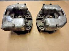 *Harley-Davidson Front & Rear Cylinder Heads for Iron Sportster, w/Rocker Boxes*