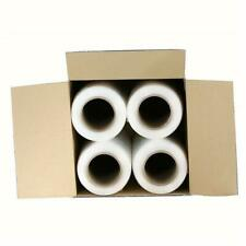 "New listing 18"" x 1500' 80 Gauge 4 Rolls Pallet Wrap Stretch Film Hand Shrink Wrap"