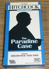 VHS Movie - Alfred Hitchcock Collection: The Paradise Case
