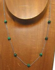 Necklace.Handmade Usa.*Name Your Stone* Sterling Silver Gemstone Beaded