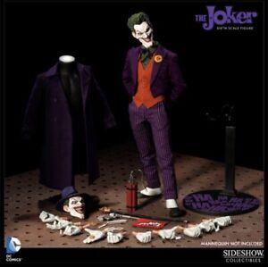 DC SIDESHOW  THE JOKER Exclusive 1/6 Figure 2014 The Killing Joke Hat