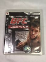 Sony PlayStation 3 PS3 | UFC 2009 Undisputed | Game Disc + Case