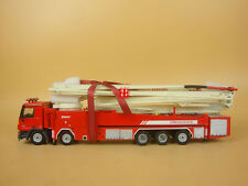 1:50 sany 62M water tower fire truck model