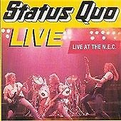 STATUS QUO-LIVE AT THE NEC  CD NEW