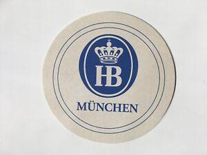Hofbrauhaus Munich Beer Mat Coaster Sous Bock Bierdeckel