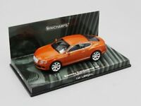 MINICHAMPS 1:43  BENTLEY CONTINENTAL GT   2011   ORANGE METALLIC