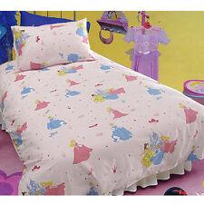 PRINCESS -  SINGLE Quilt Doona Cover Set - Cinderella Belle Sleeping Beauty NEW