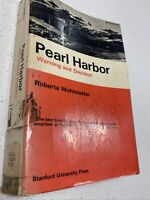 PEARL HARBOUR WARNING AND DECISION-Roberta Wohlstetter VINTAGE BOOK 1965 War