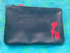 Betty Boop Silhouette Sequin Makeup Travel Zipper Clutch Pouch Gift Bag Nwot