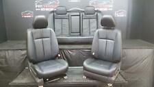 2011 NISSAN ALTIMA SR SEDAN FRONT & REAR BUCKET LEATHER SEATS Trim Code G Black
