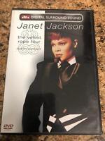 Janet Jackson - The Velvet Rope Tour - Live in Concert (DVD) - E0527