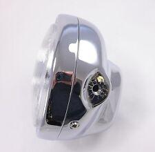 Universal Chrome Headlight & Bucket Complete NEW Cafe Racer Chopper Custom