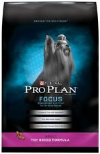 Purina Pro Plan FOCUS Adult Toy Breed Formula Adult Dry Food - (1) 5 lb. Bag