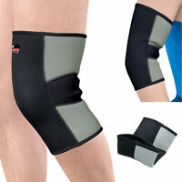 Sport Neoprene Patella Knee Leg Sleeve Brace Compression Support Thermal Therapy