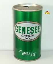 1960's*The Male Ale* Genesee Cream Straight Steel Beer Can Rochester,Ny.New York