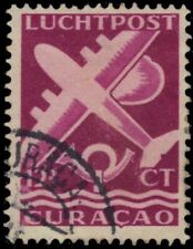 "NETHERLANDS ANTILLES C33A - Plane and Post Horn ""Airmail"" (pa89545)"