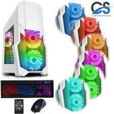 Spiele PC Intel i7 3.4 GHZ Neu 120 Sdd 16 GB RAM 4GB GTX 1650 Windows 10 Wifi