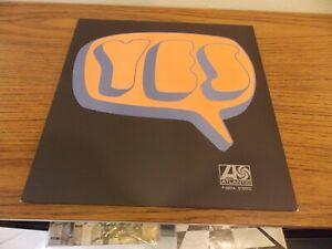 "Yes ""Self-Titled"" LP Atlantic P-8287A Japan Pressing Mint w/Insert"