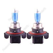 2x H13 12V 60/55W Automotive Light Halogen Lamp Xenon Filled Super White 9008