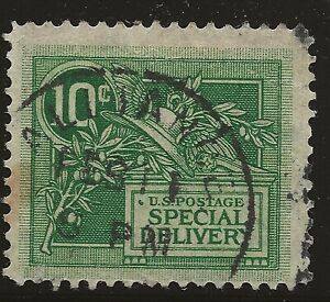 US Scott #E7, Single 1908 Special Delivery VF Used