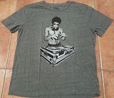"Bruce Lee DJ Medium Gray cotton 2XL T shirt Gungfu MMA XXL Avengers 48"" chest"