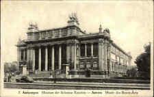 ANTWERPEN Belgien Anvers 1948 Kunst Museum, frankiert Belgie Belgique gelaufen