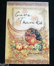 Leanin Tree Thanksgiving Greeting Card Giving Thanks Funny Multi Color Th4